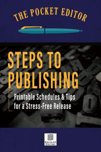 Steps to Publishing from Eschler Editing